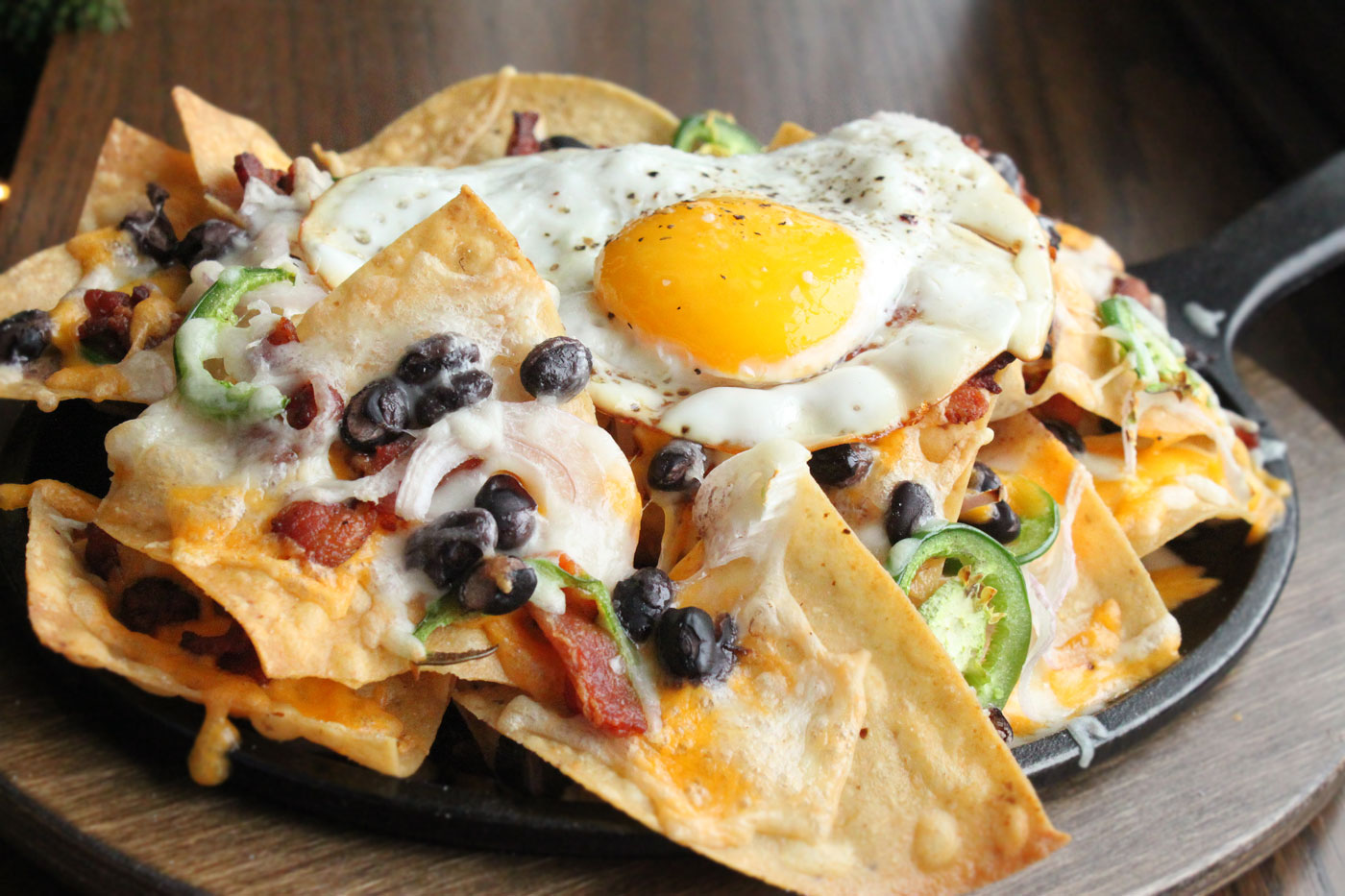 Breakfast recipe nachos