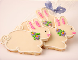 Bunny easter cookie