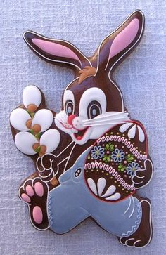 Gingerbread s easter bunny