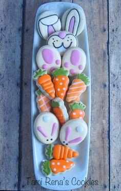 Cute cookies easter