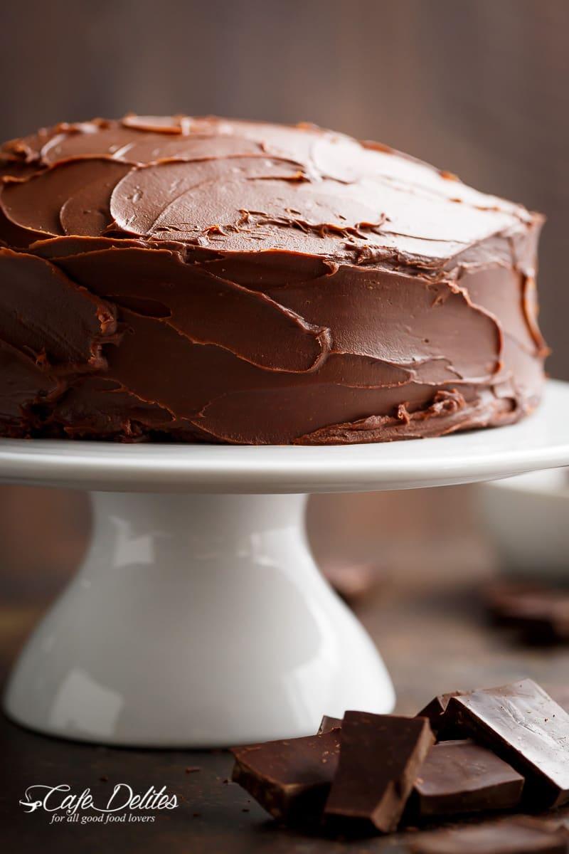 best fudgy chocolate cake