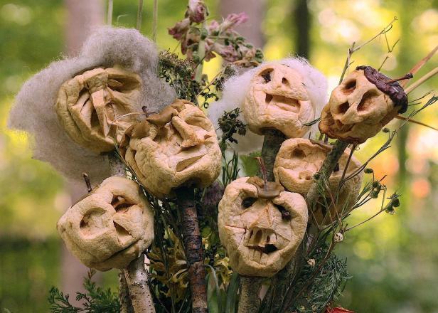 Apple Shrunken heads