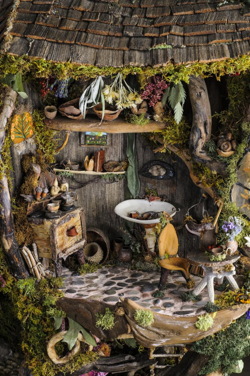 Fairy Houses and garden decorations