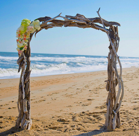 Arbors for wedding driftwood