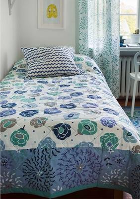 Liselott eco-cotton bedspread