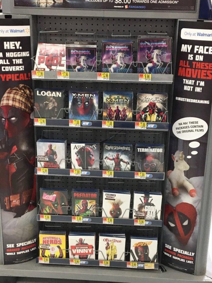 Deadpool 2 Movie promos.
