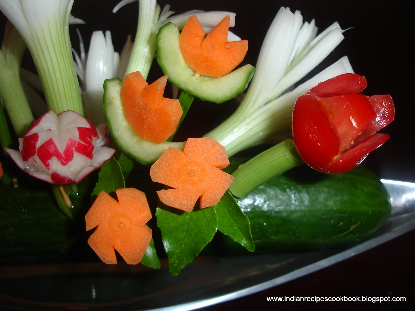 Salad Decoration & Fruit Carvings