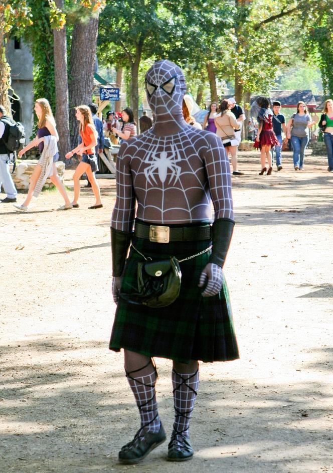 Huh? Mac Spiderman?