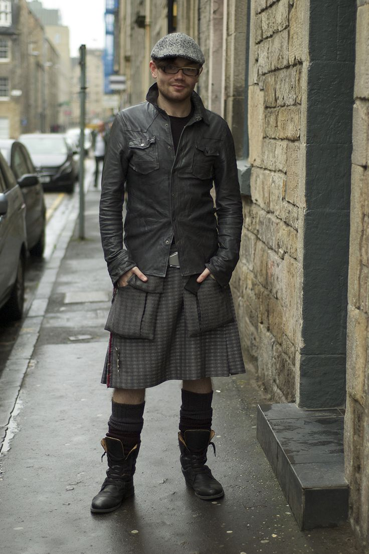 Daily kilt wear