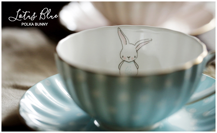 Little Rabbit Ceramic Bone China