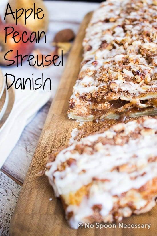 Apple Pecan Streusel Danish