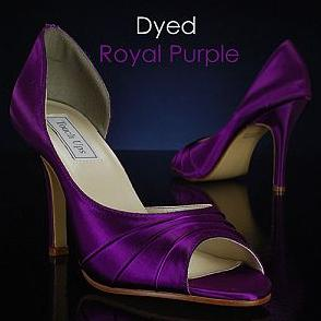Dyeable wedding shoes