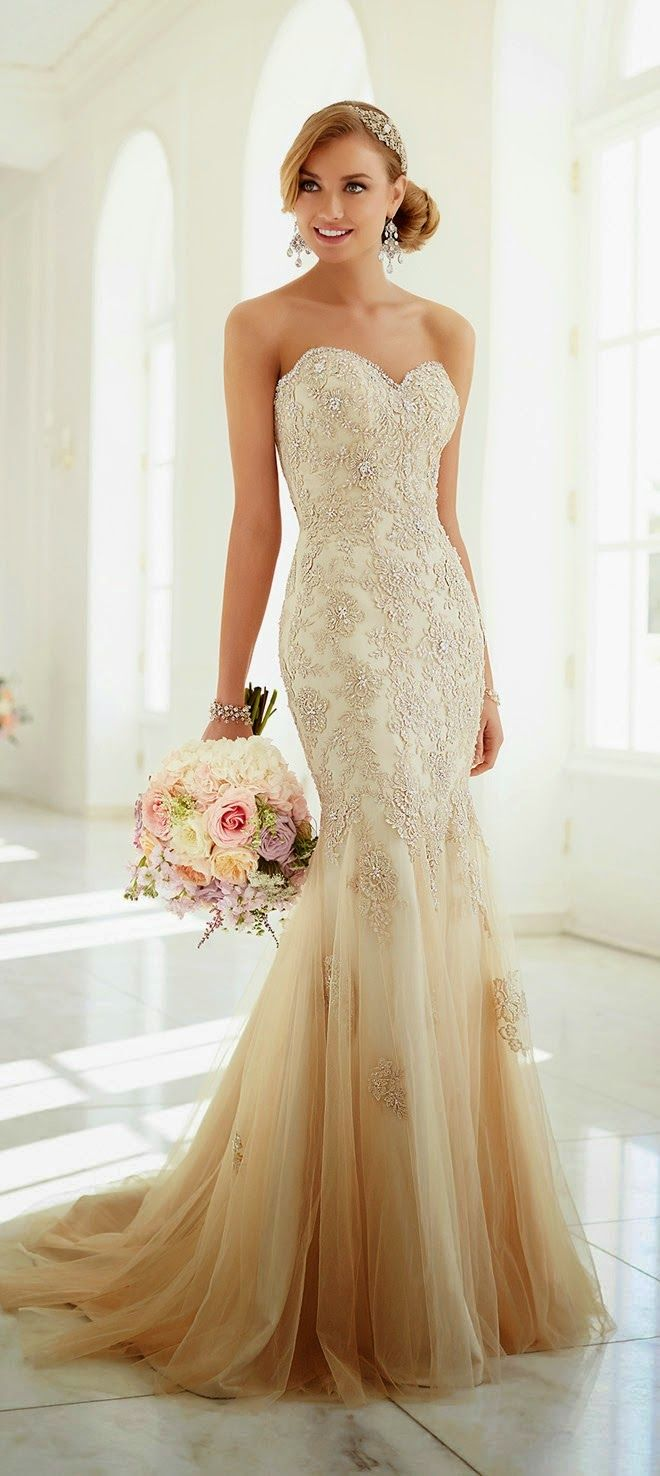 Dress ombre wedding