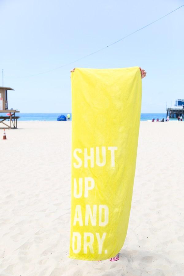 DIY Beach towel