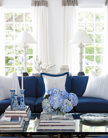 Nautical blue home