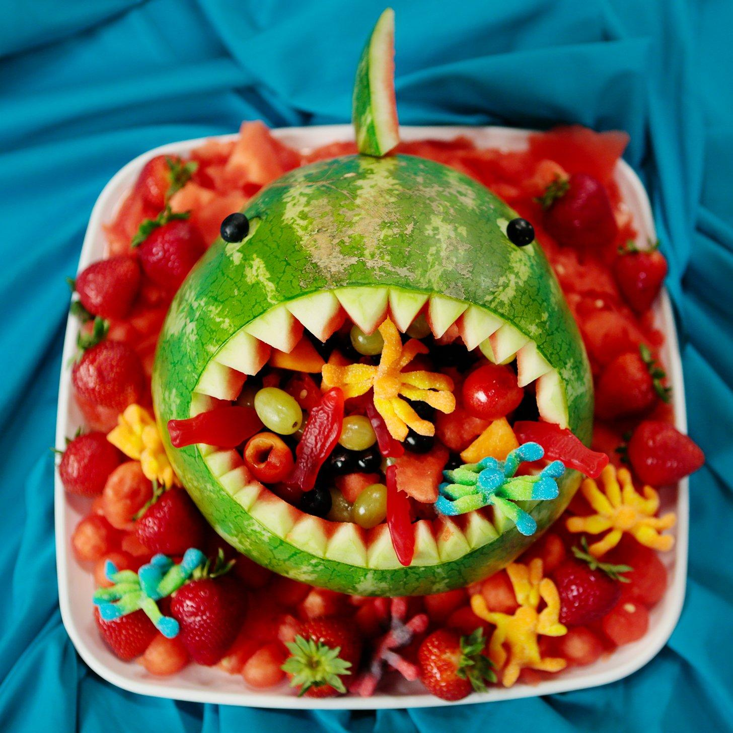 Watermelon special fruitcarving