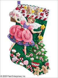 Stocking kits - sugar plum fairy