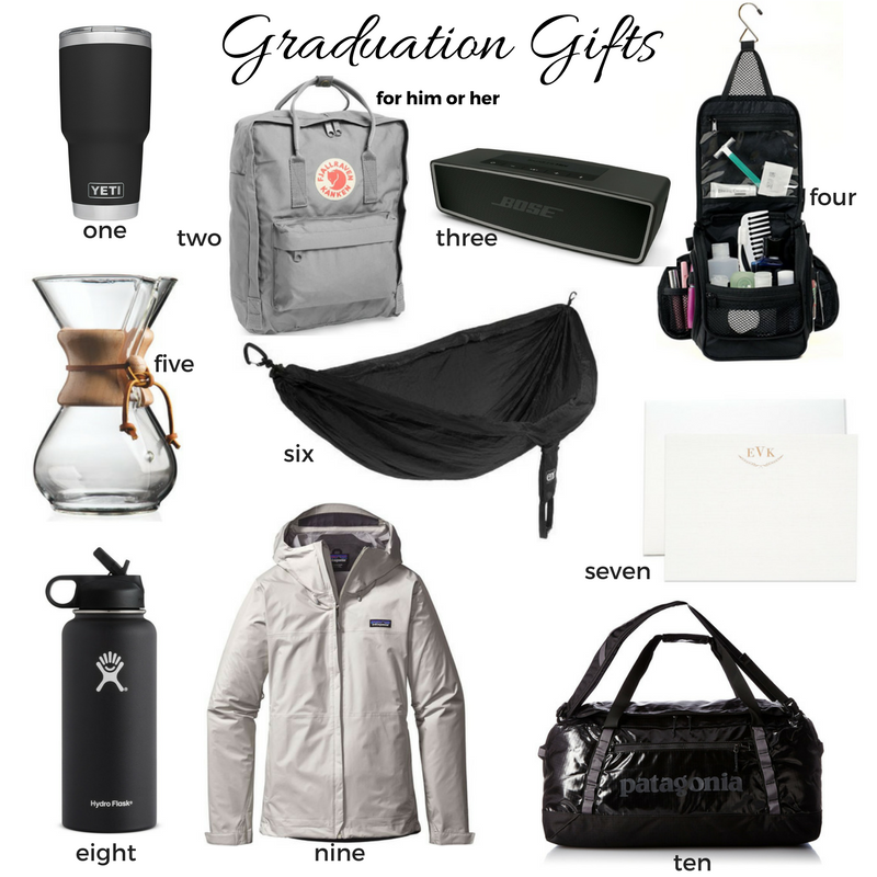 Graduation Gifts for him or her
