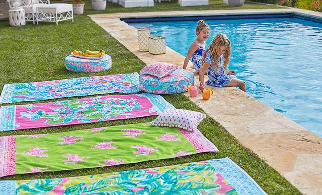 Summer towels splashes of color