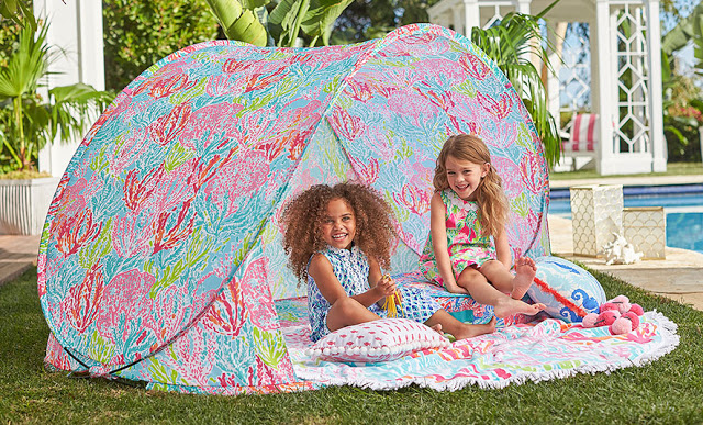 Tent style sun shade
