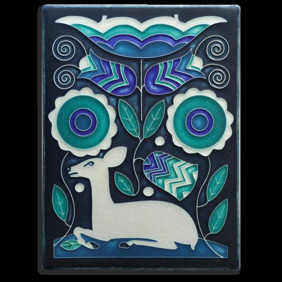 Art Tile 6x8 Vienna Woods - Blue