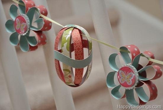 Easter garland ideas