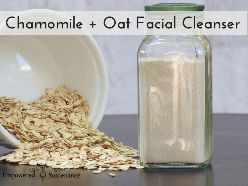 Facial cleanser recipe