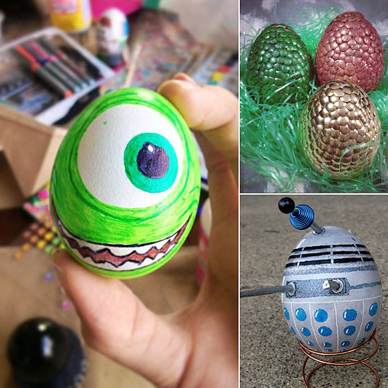 Easter eggs decoration ideas