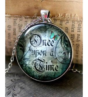 Once Upon a Time Glass Necklace