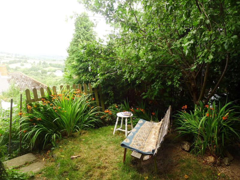 Reading nook in the garden