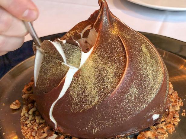 Giant Truffle Gelato Dome!