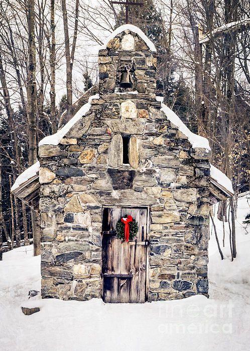 Chapel snow