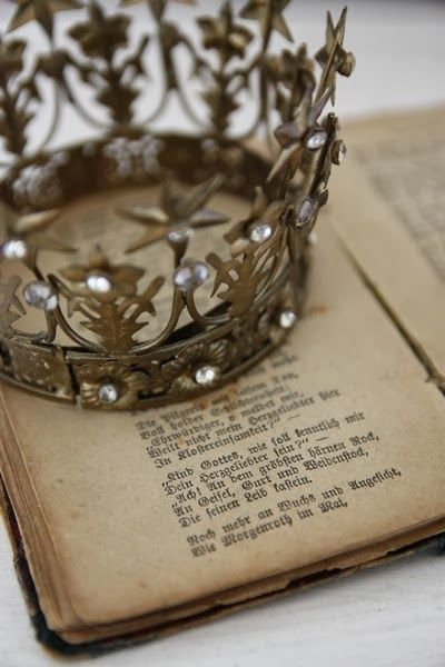 My crown my antique book