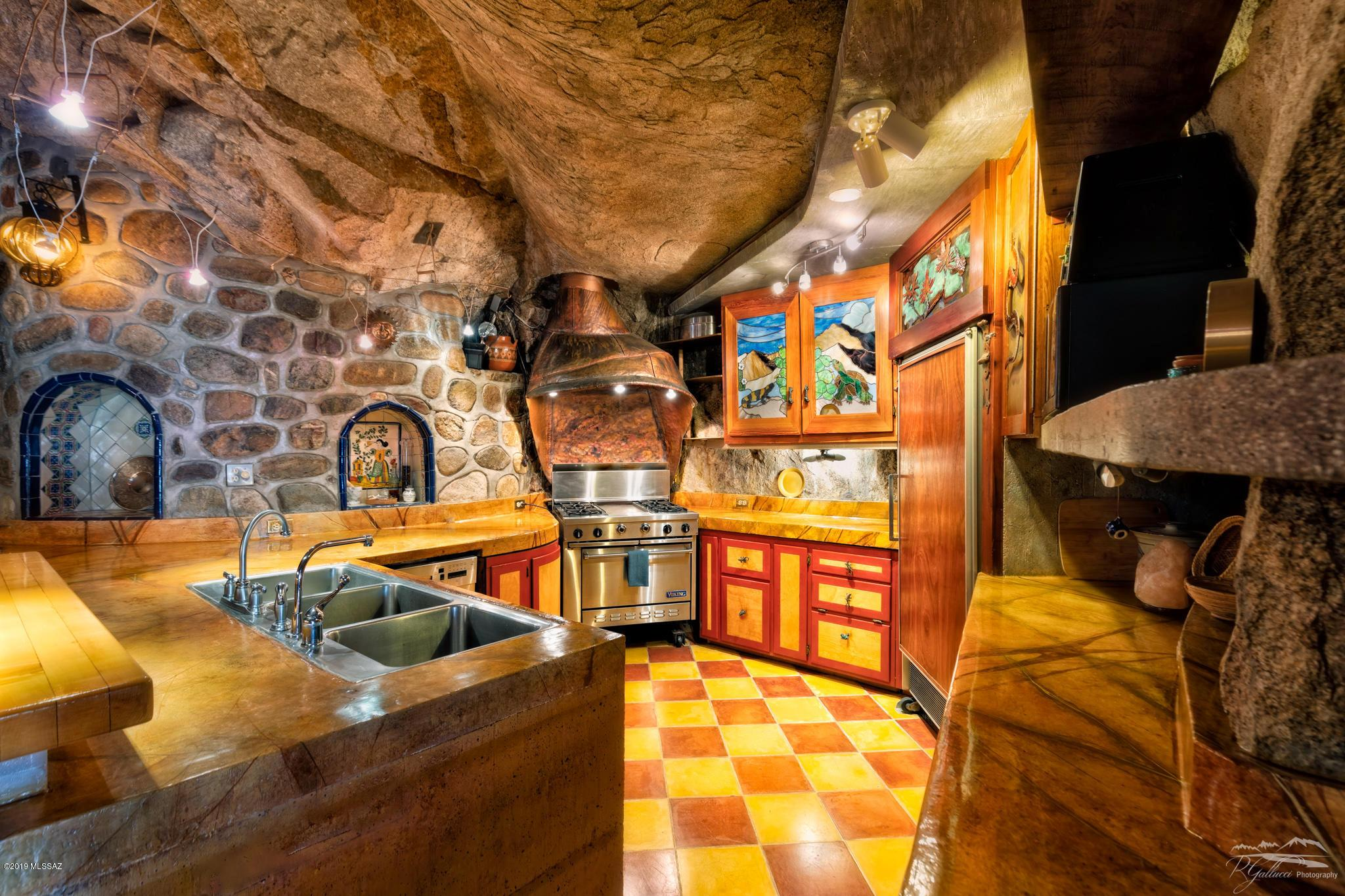 Cave home in Arizona