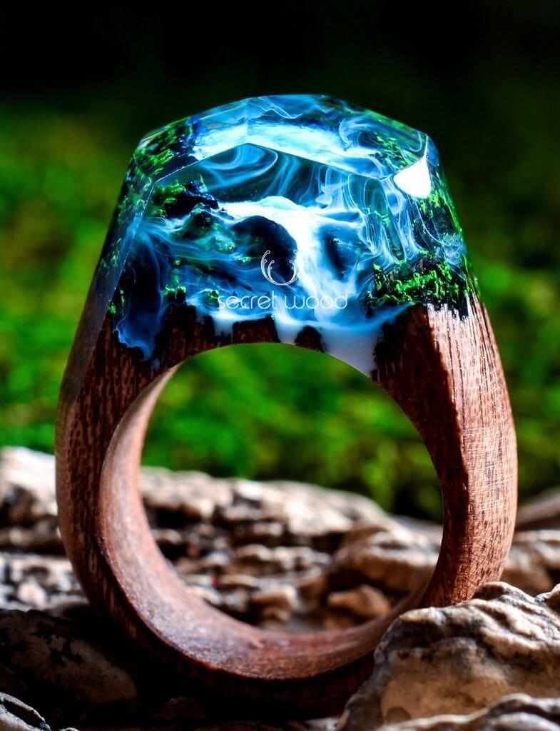 Azure Falls Ring