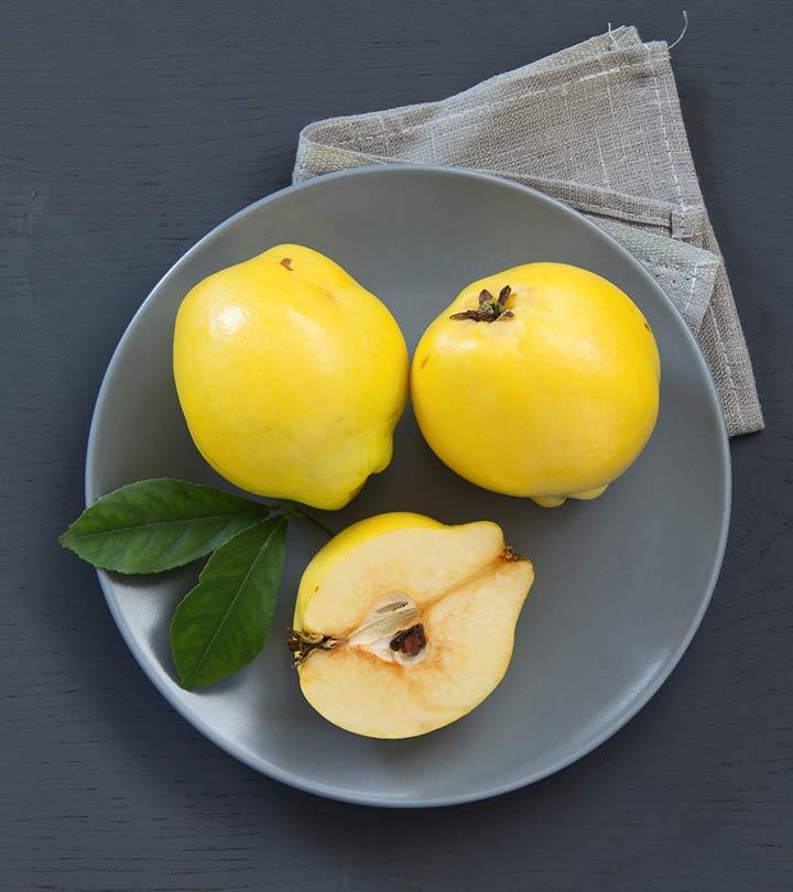 Health Benefits Of Quince Fruit.