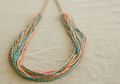 Seed bead necklace picture