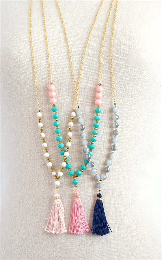 Easy Necklace making Ideas