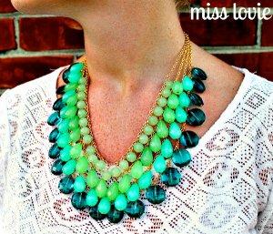 Ombre necklace tutorials
