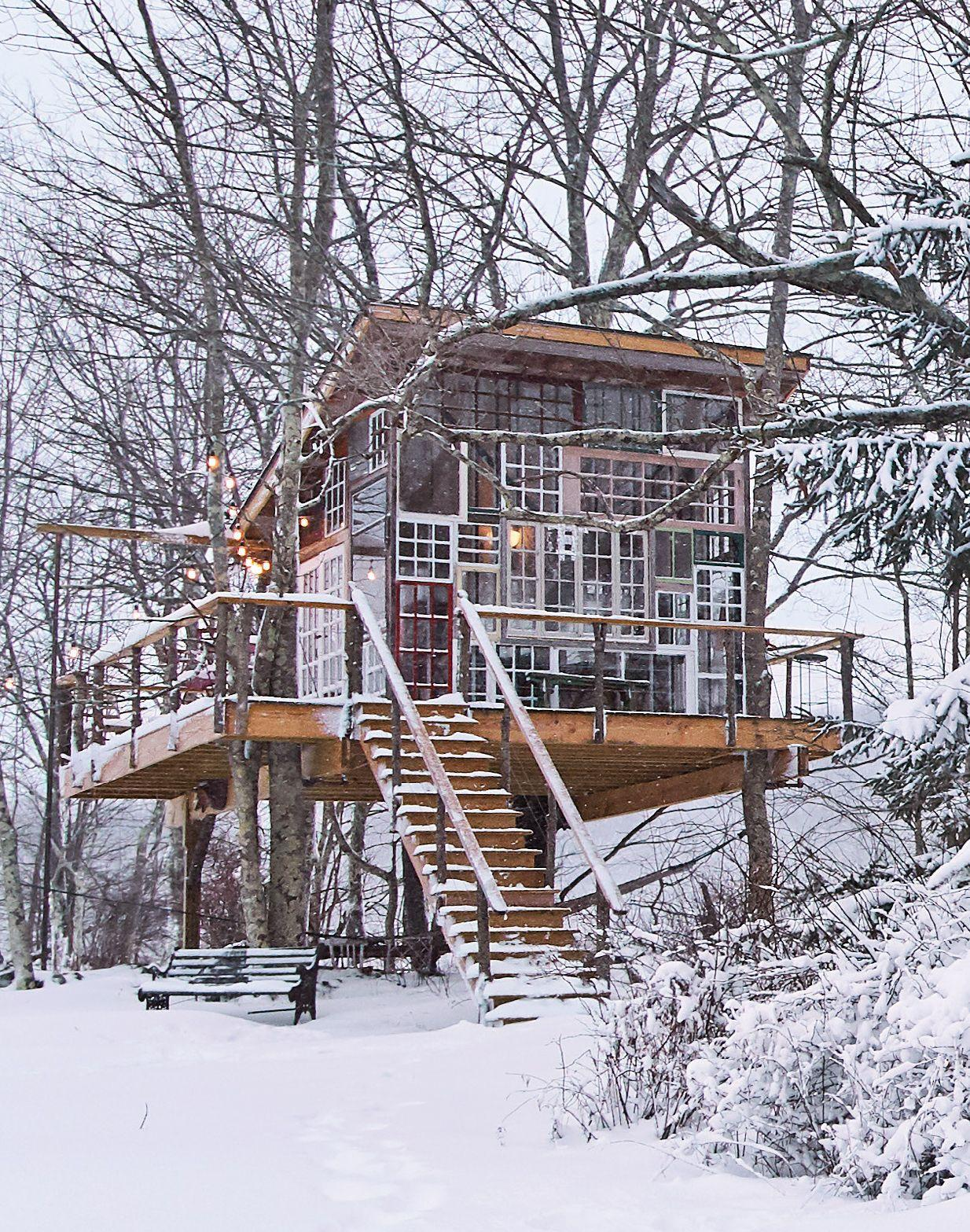 Greenhouse treehouse