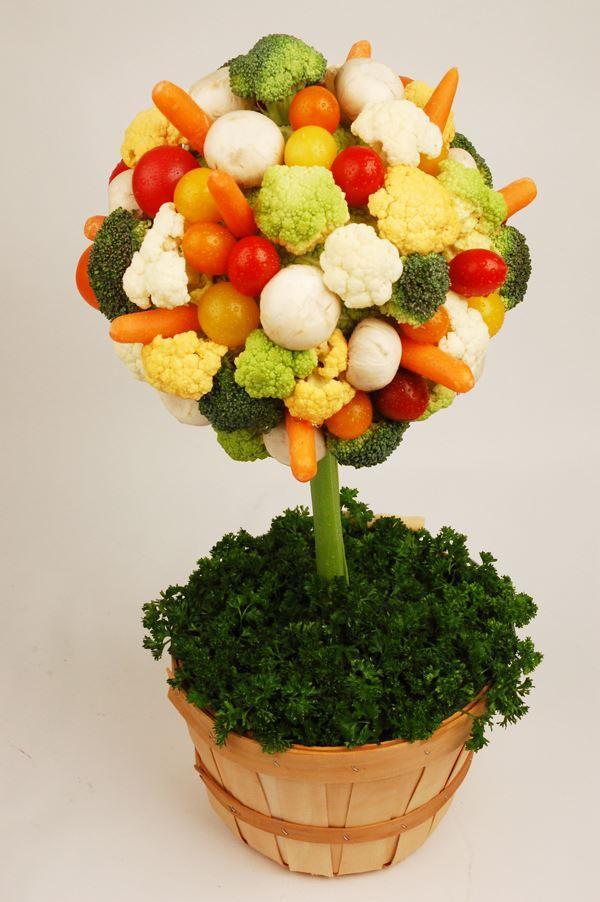 Crudite topiary