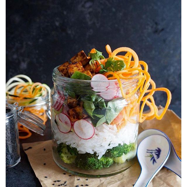 Sushi Salad In A Jar