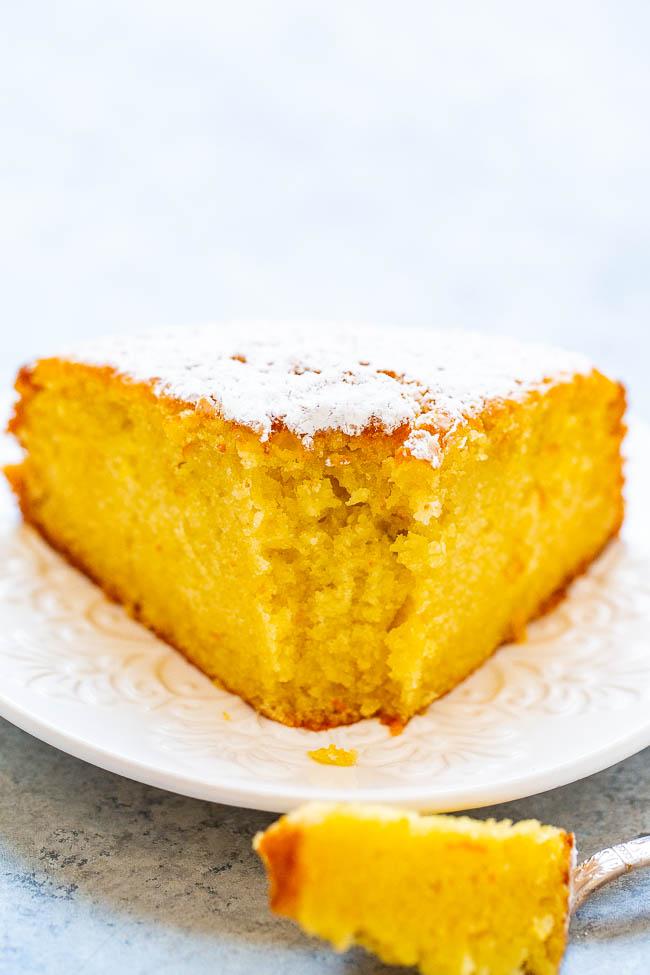 Olive Oil Orange Cake