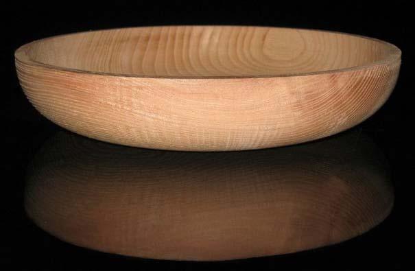 Wooden serving bowls
