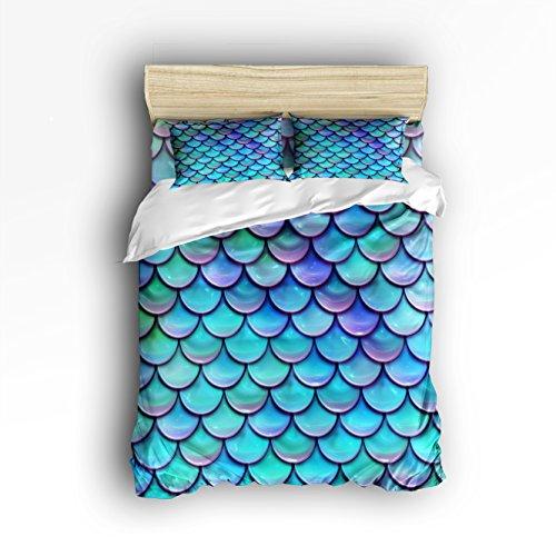 Mermaid bedspread