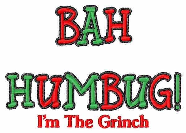 Grinch Bah Humbug