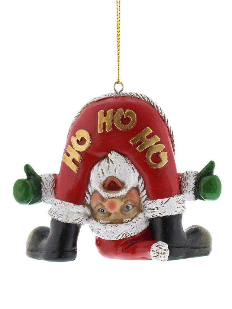 Bad Santa Hanging Decorations