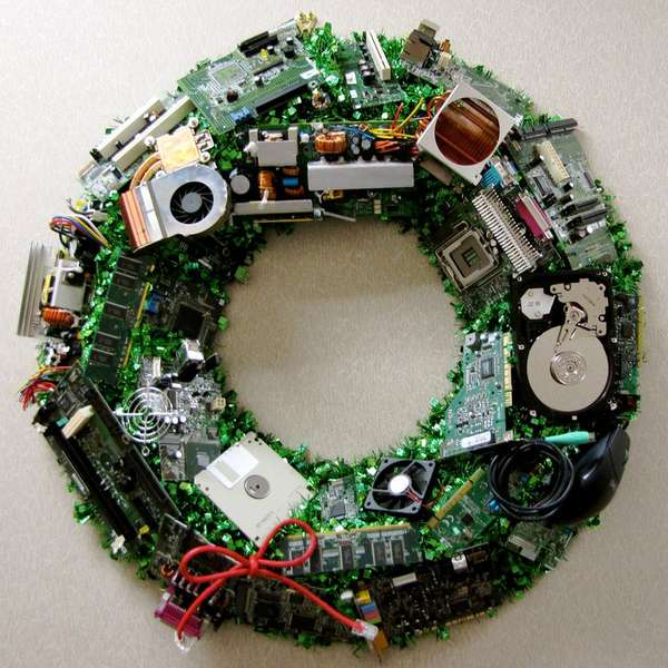 Techie Wreath