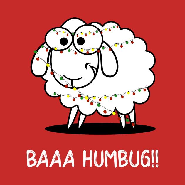 Baaa Humbug tee.