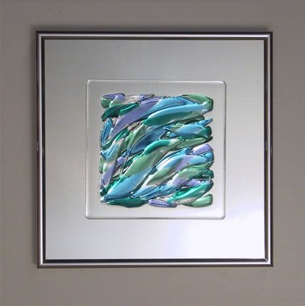 Fused glass art.